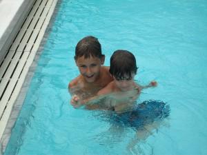 brothersSwim